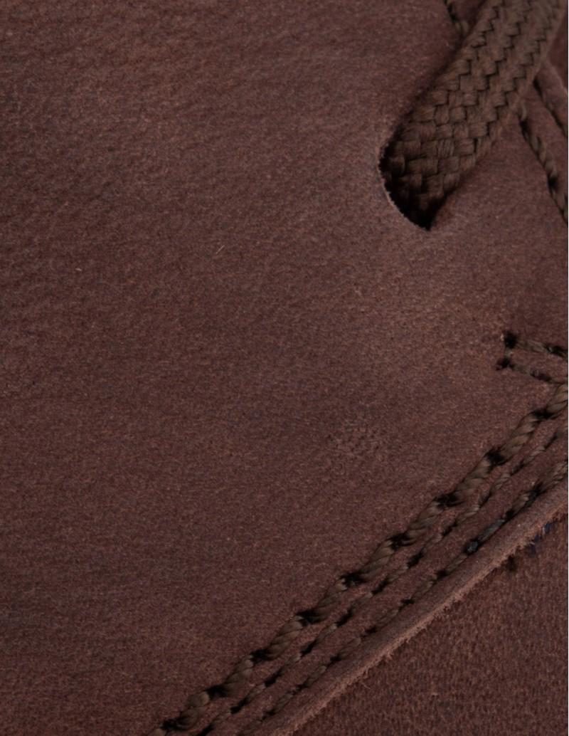 bota cordones hombre marrón