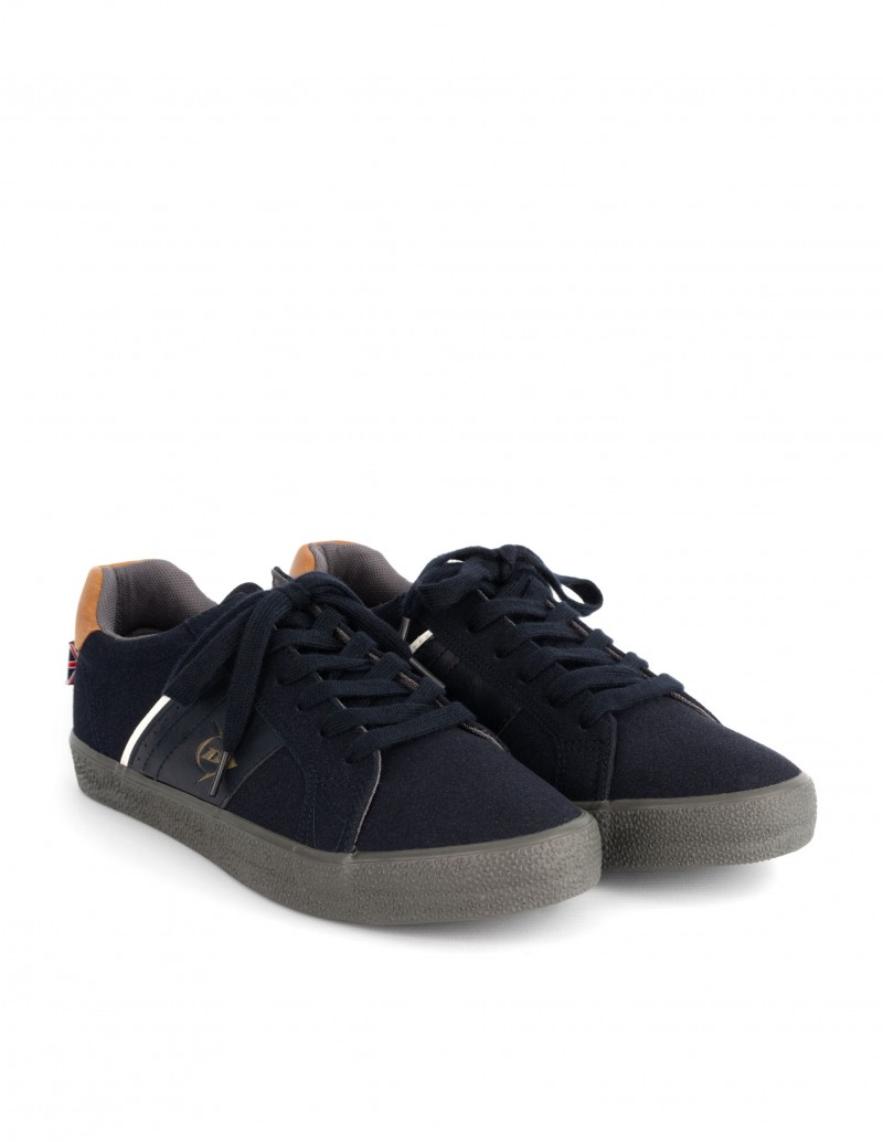 zapatillas dunlop hombre grises