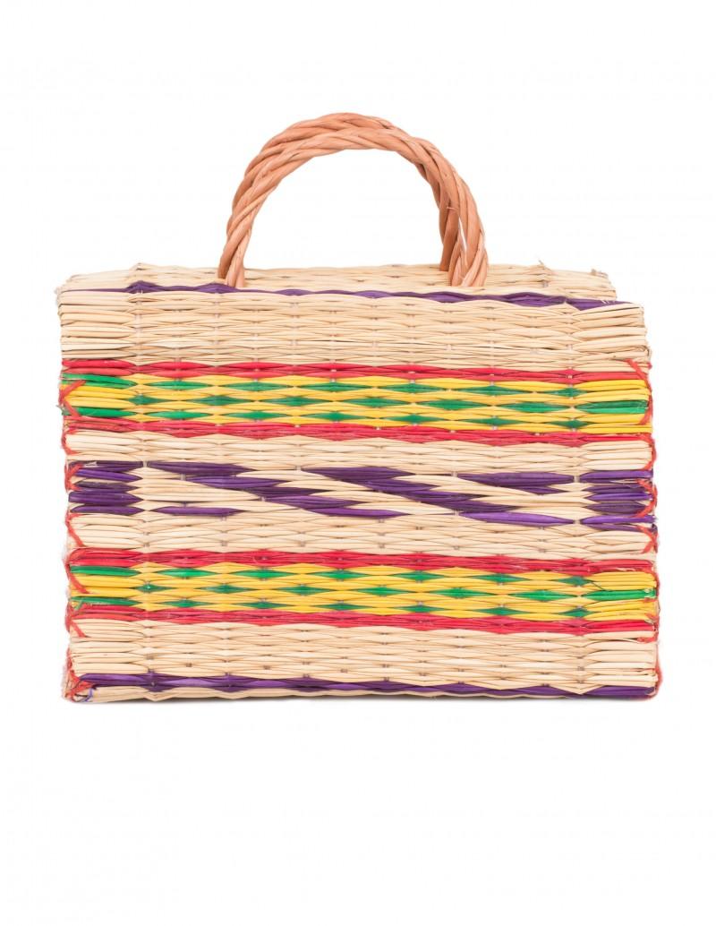 cesta portuguesa artesanal colores