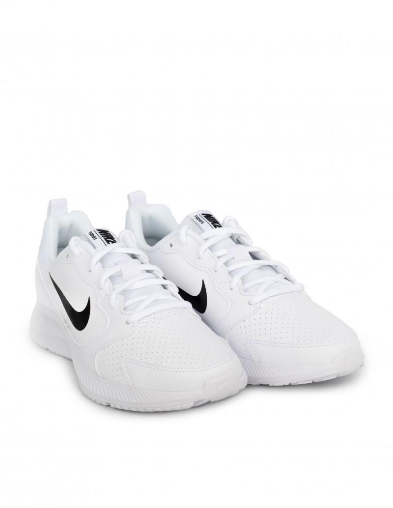 zapatillas blancas y negras hombre nike
