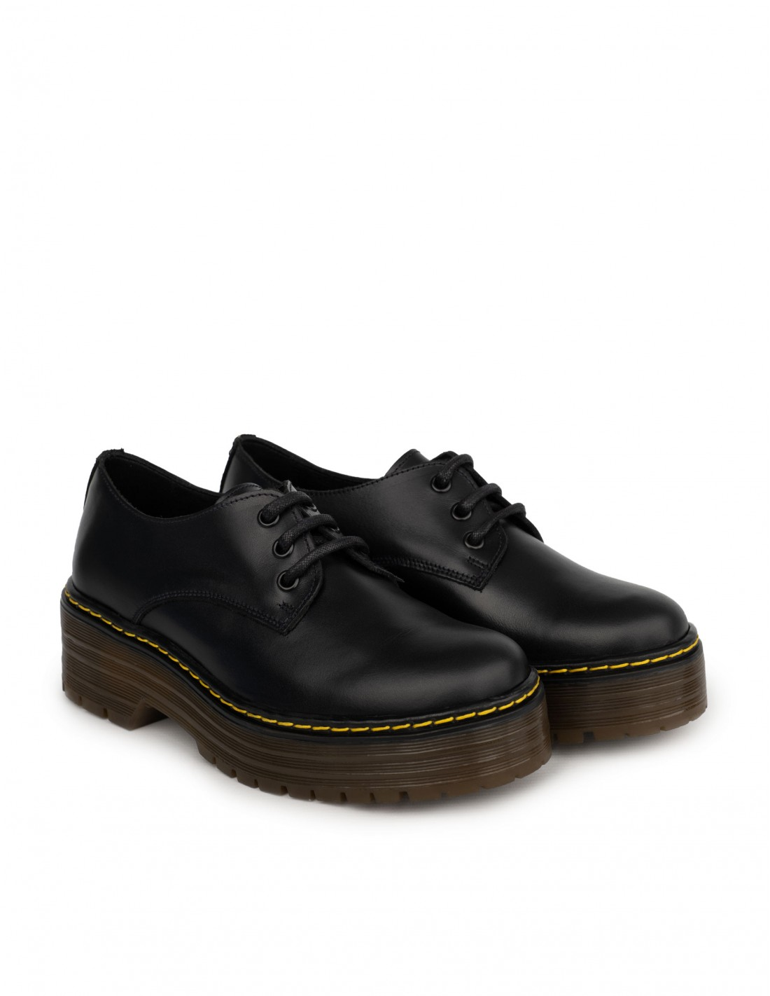 Zapatos Masculinos Mujer Plataforma PERA LIMONERA