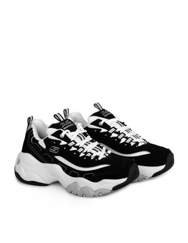 zapatos skechers mujer invierno blanco y negro