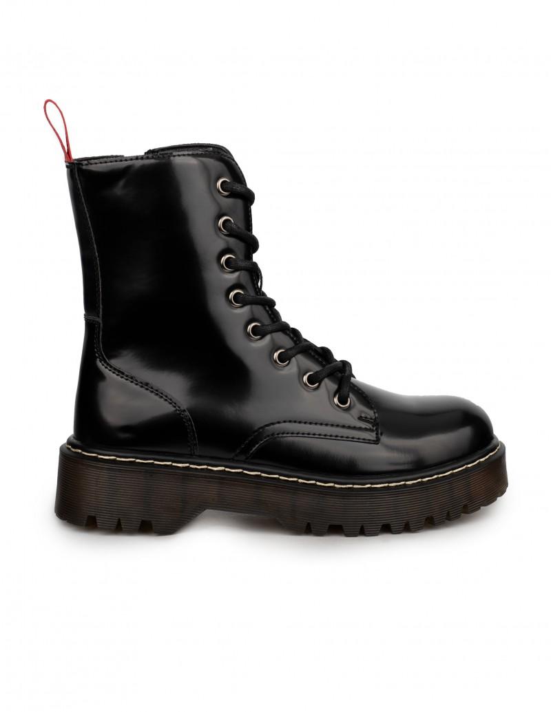 Coolway botas militares charol