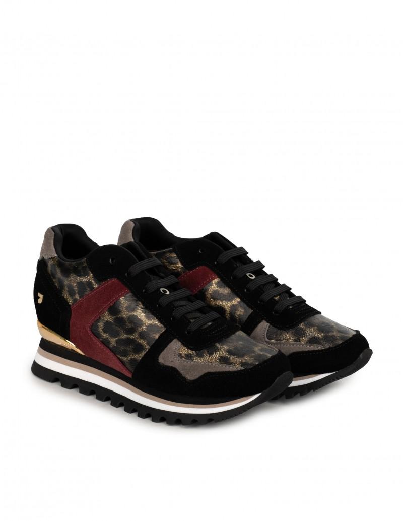 zapatillas leopardo mujer