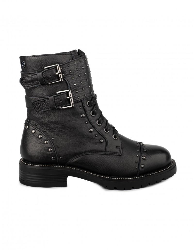 Carmela botas moteras tachuelas