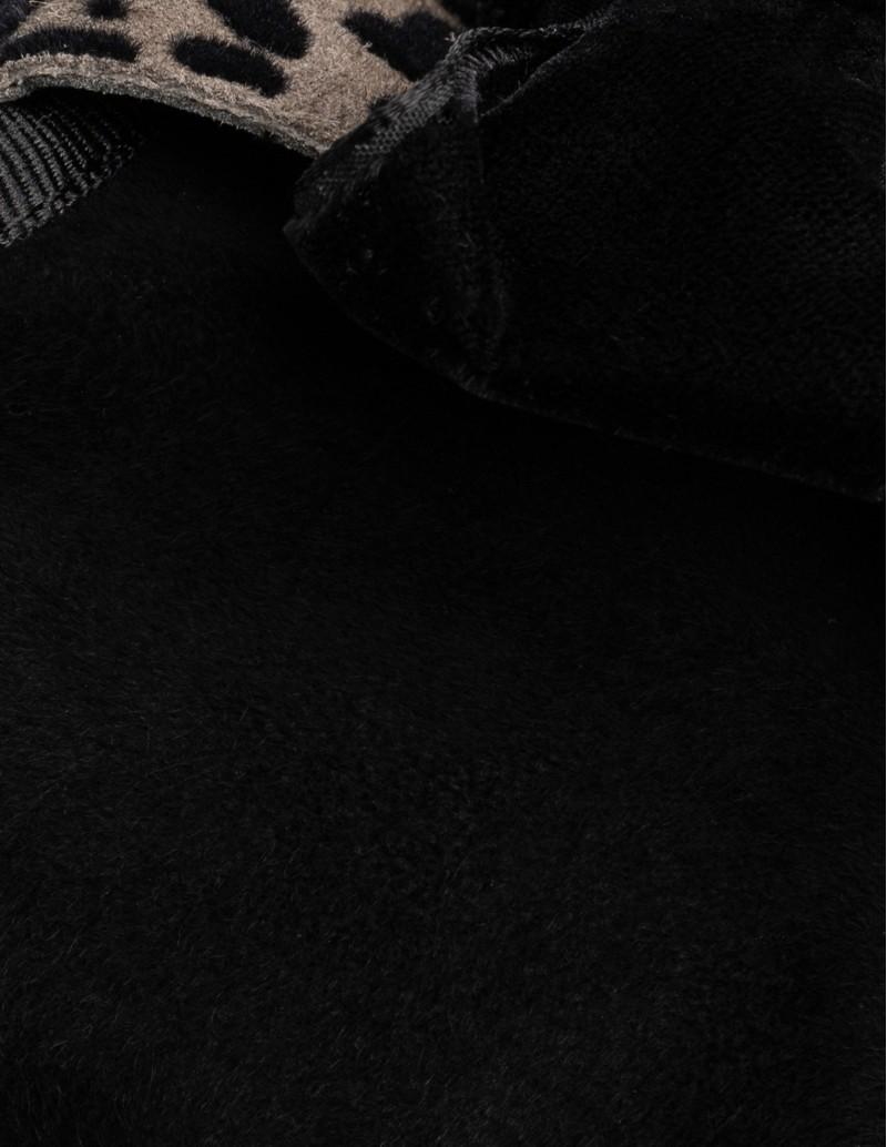 zapatos planos charol negro mujer