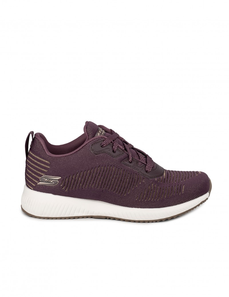 Skechers Bobs Squad-Glam League Burdeos
