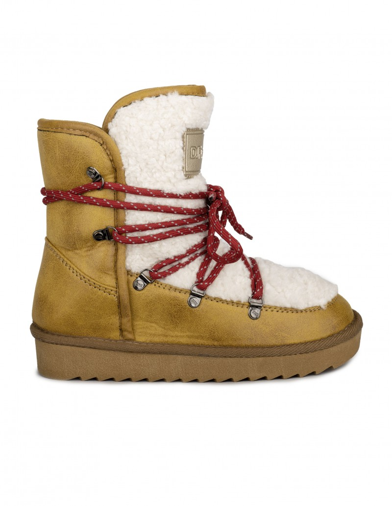 Dr. Franklin botas australianas cordones rojos