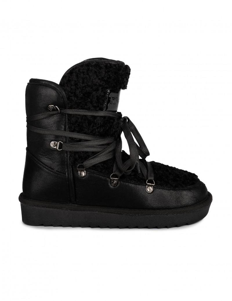 Dr. Franklin botas australianas cordones negros