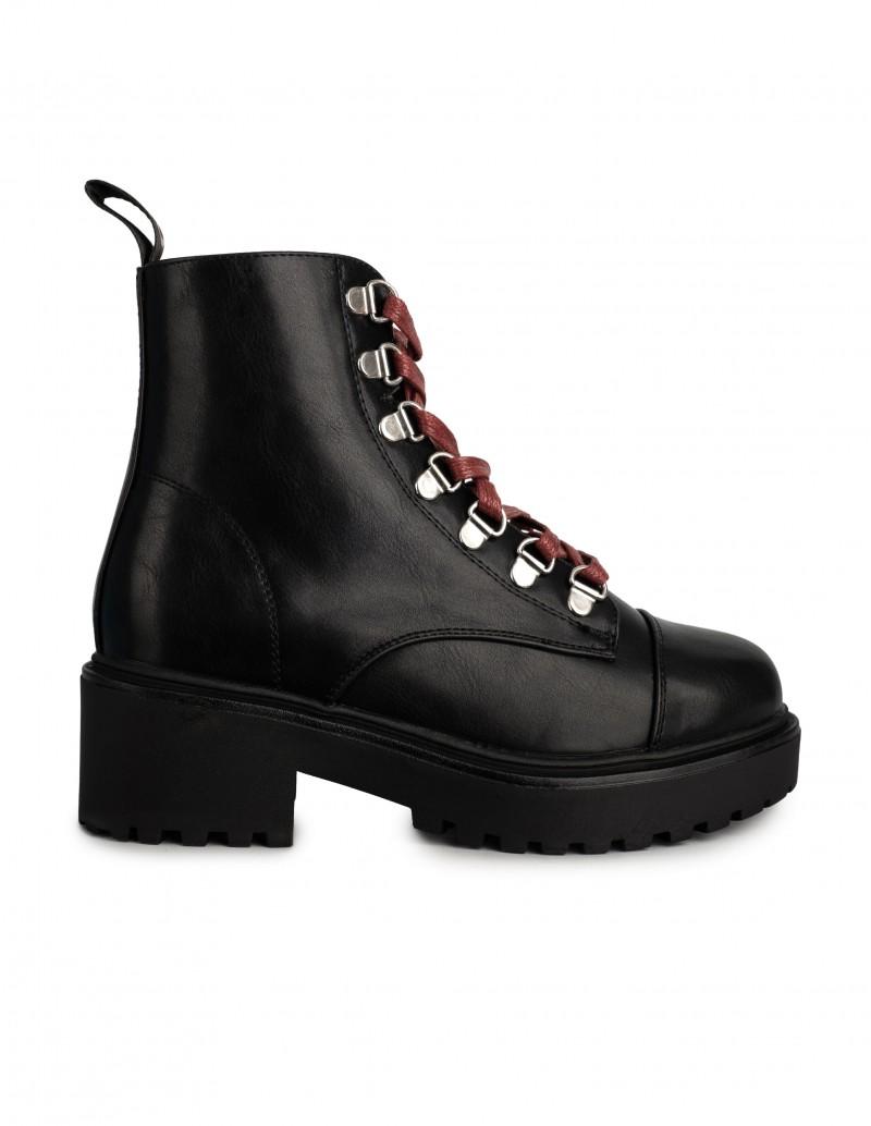 Coolway botas cordones rojos