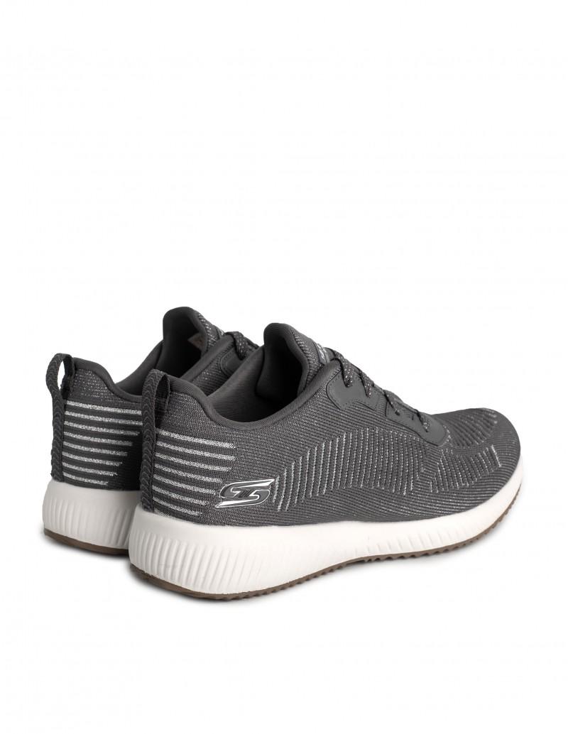 zapatillas gris plata mujer
