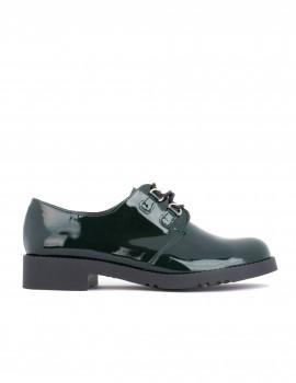 zapatos charol mujer bajos