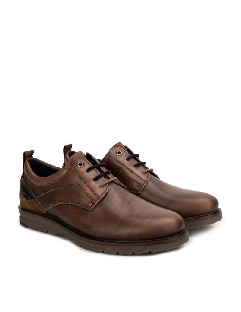 zapatos cordones hombre marrones
