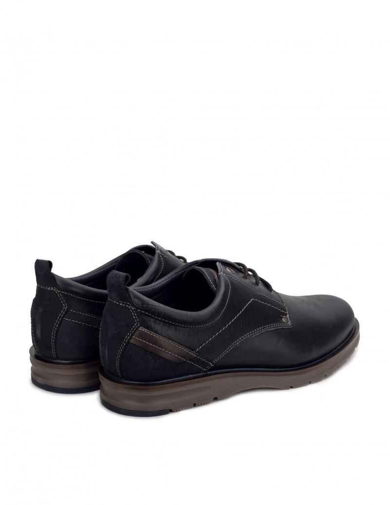 zapatos cordones hombre azules