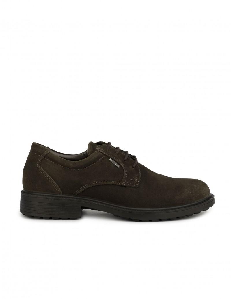 Zapatos Impermeables Cordones Marrón