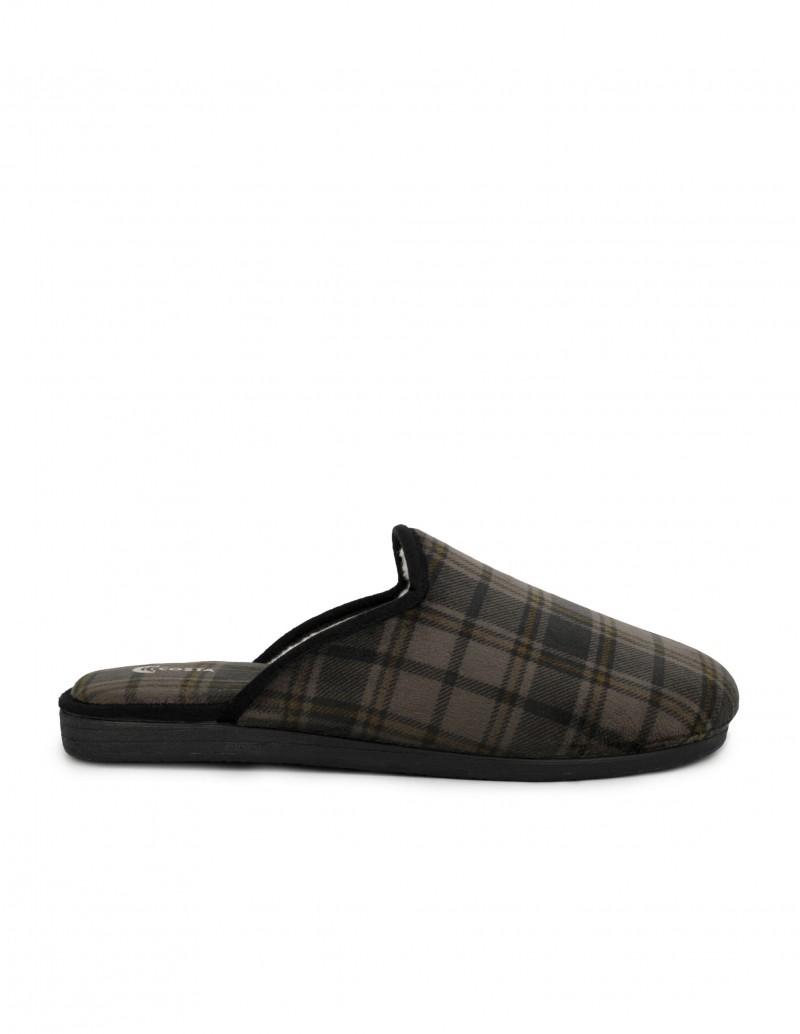 COSTA Zapatillas Descalzas Hombre Cuadros