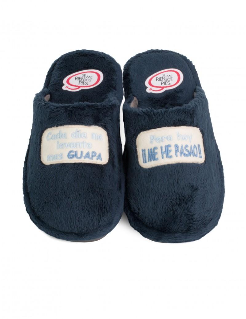 SE ME RÍEN LOS PIES Zapatillas Guapa Azul Marino