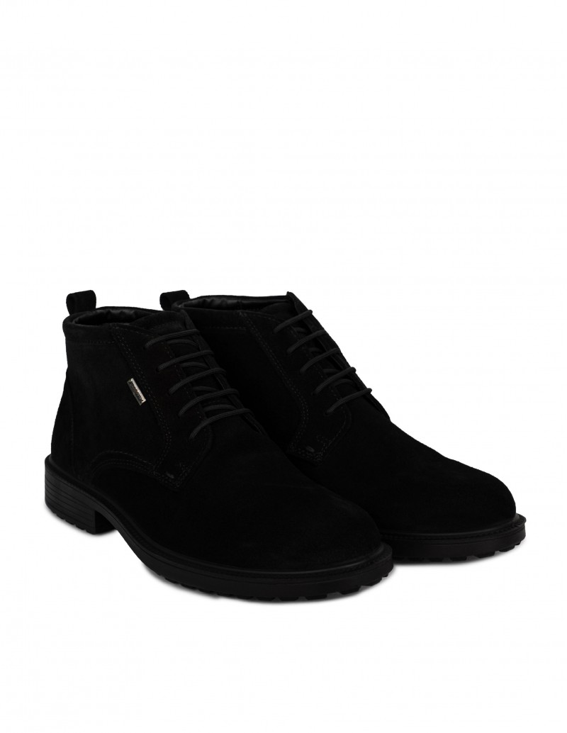 Botines Impermeables Hombre Negros