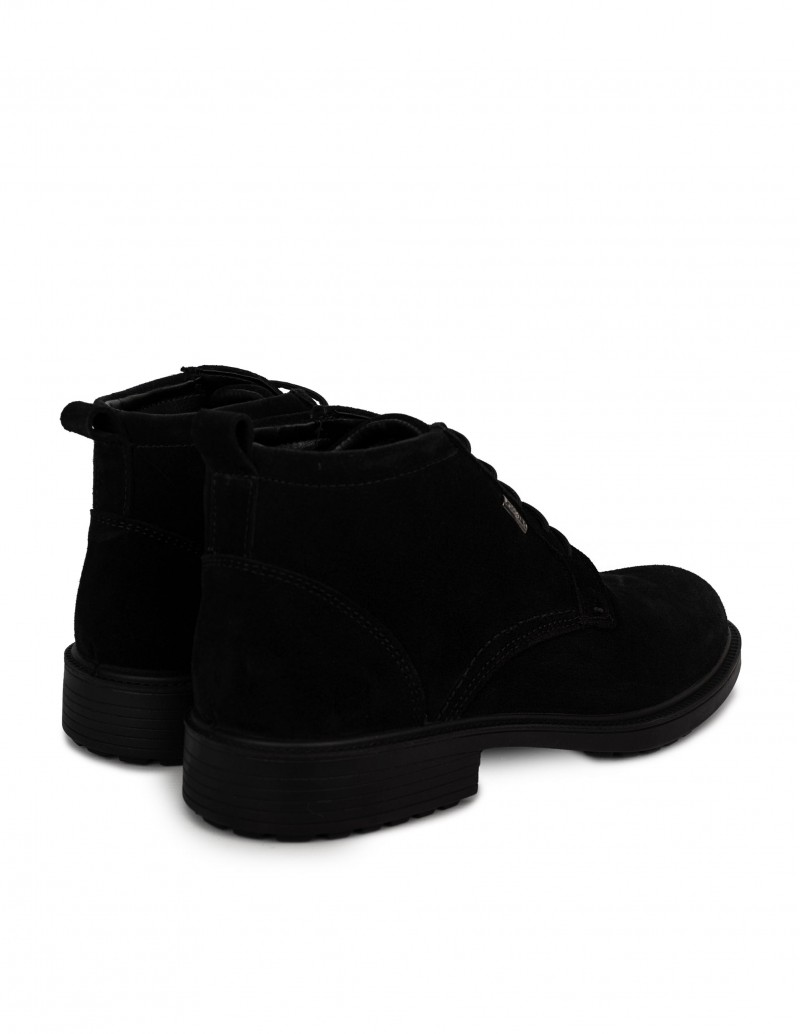 Botines Impermeables Negros Hombre