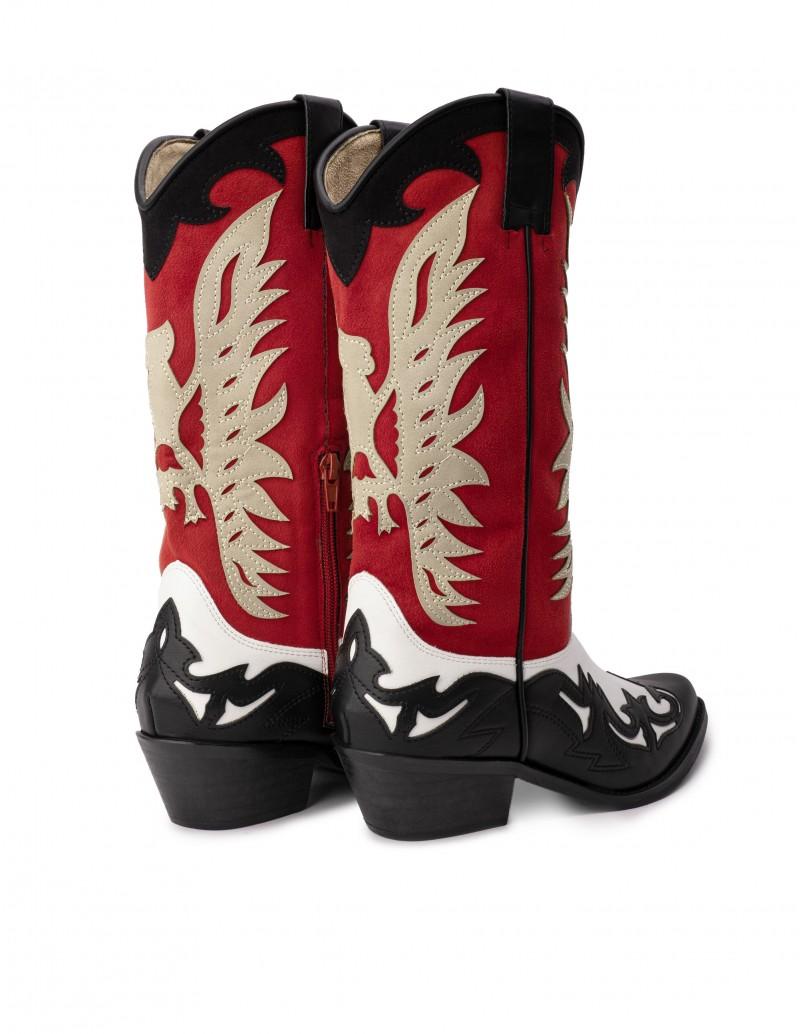 botas estilo cowboy colores