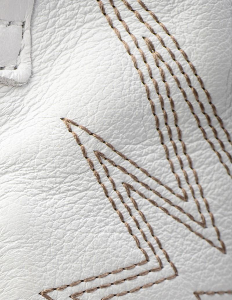 Botas Camperas Blancas Vexed