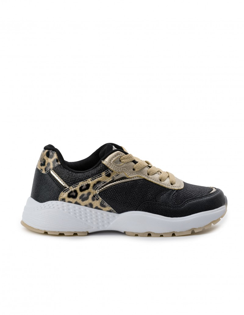 BREAK & WALK Deportivas Plataforma Leopardo