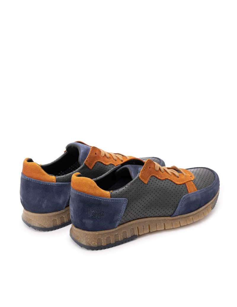 Zapatos deportivos hombre azules
