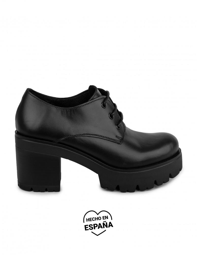 Zapatos Cordones Plataforma...