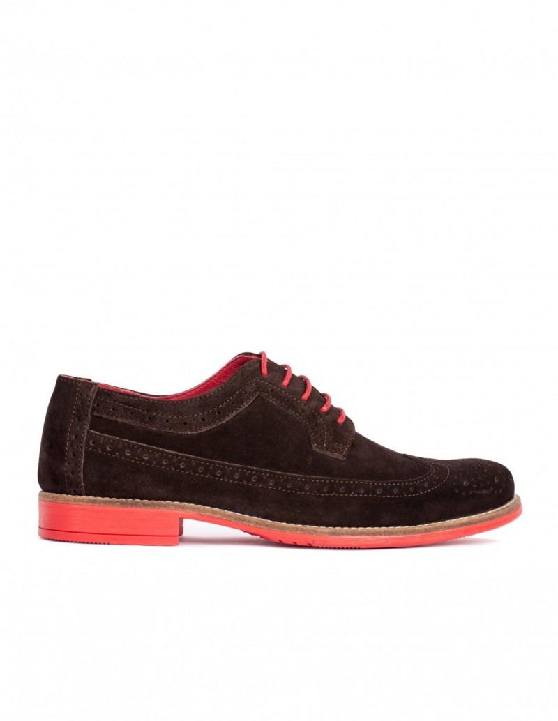 Zapato Pera Limonera suela roja serraje