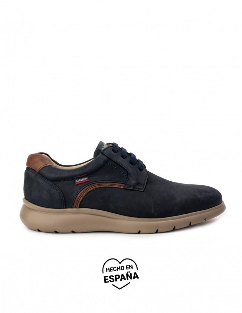 CALLAGHAN Zapatos Nobuck Azul Marino