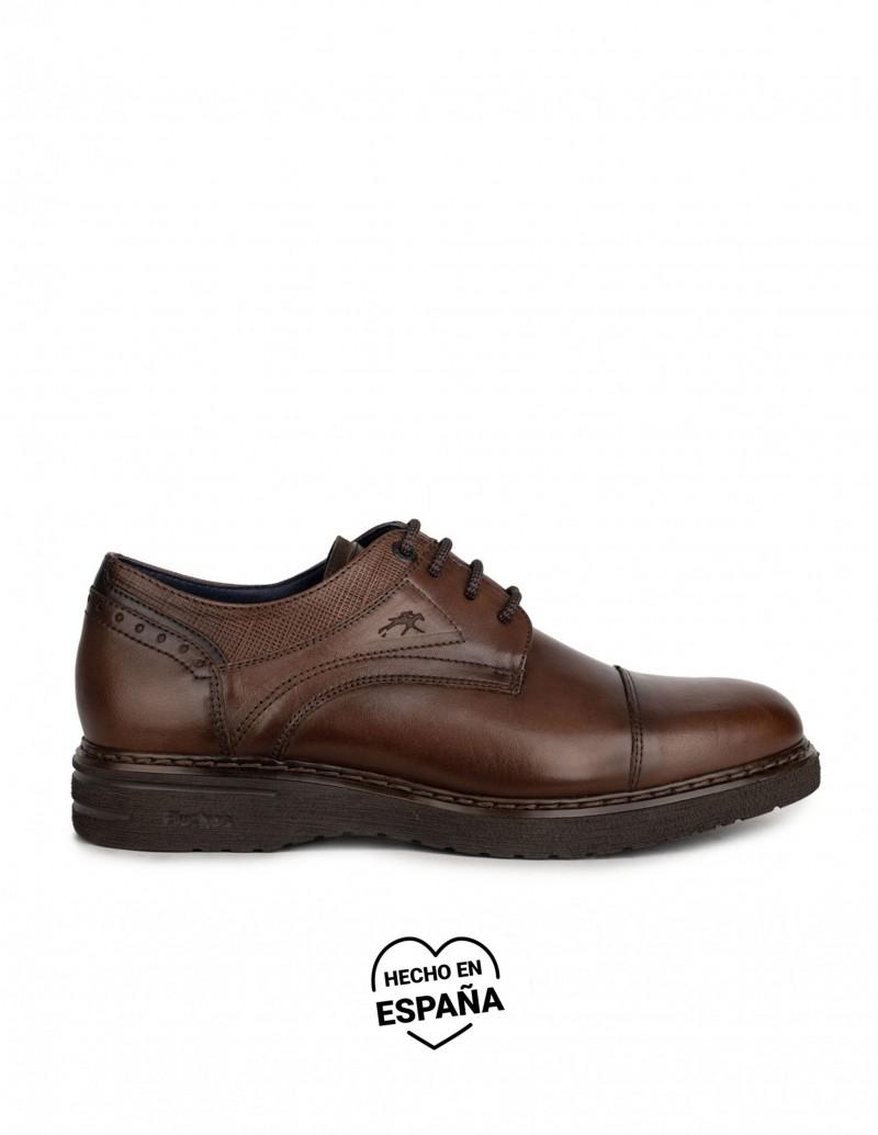 FLUCHOS Zapatos Vestir Piel Marrón