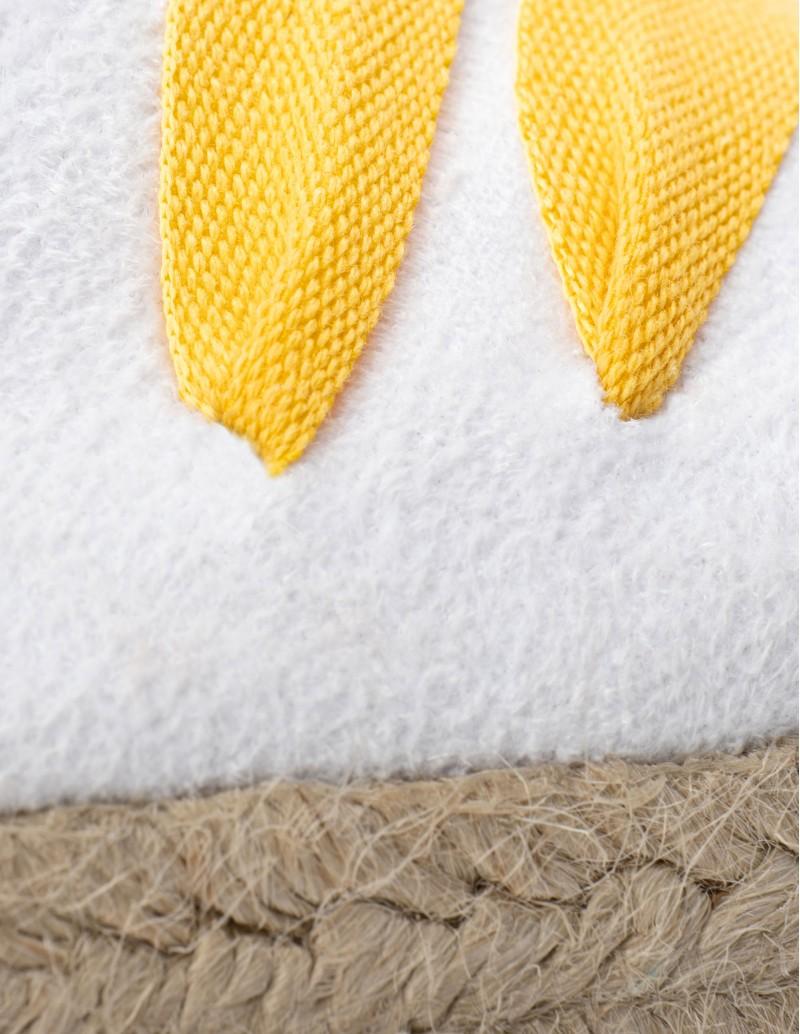 alpargatas cintas blancas mujer