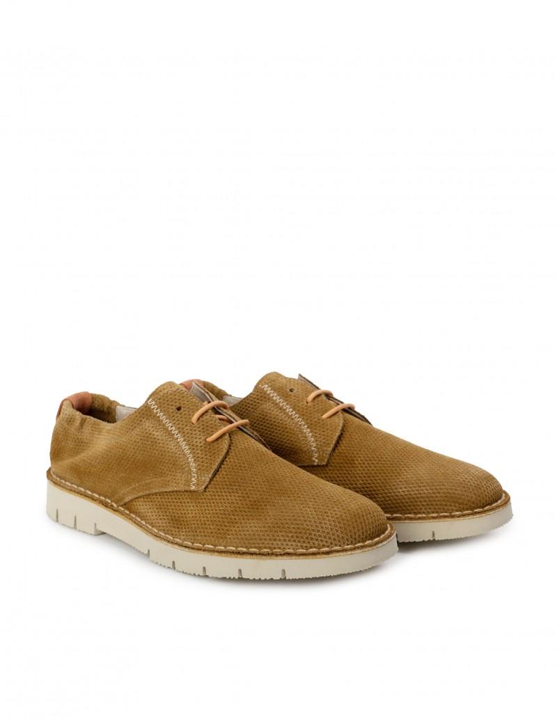 zapato derby serraje hombre