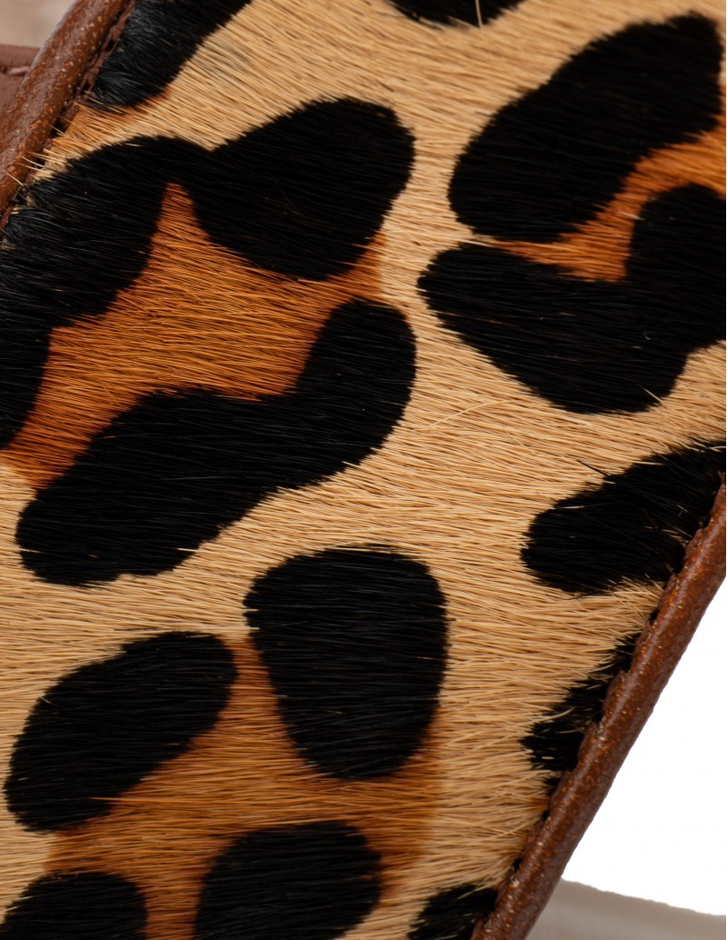 sandalias animal print leopardo