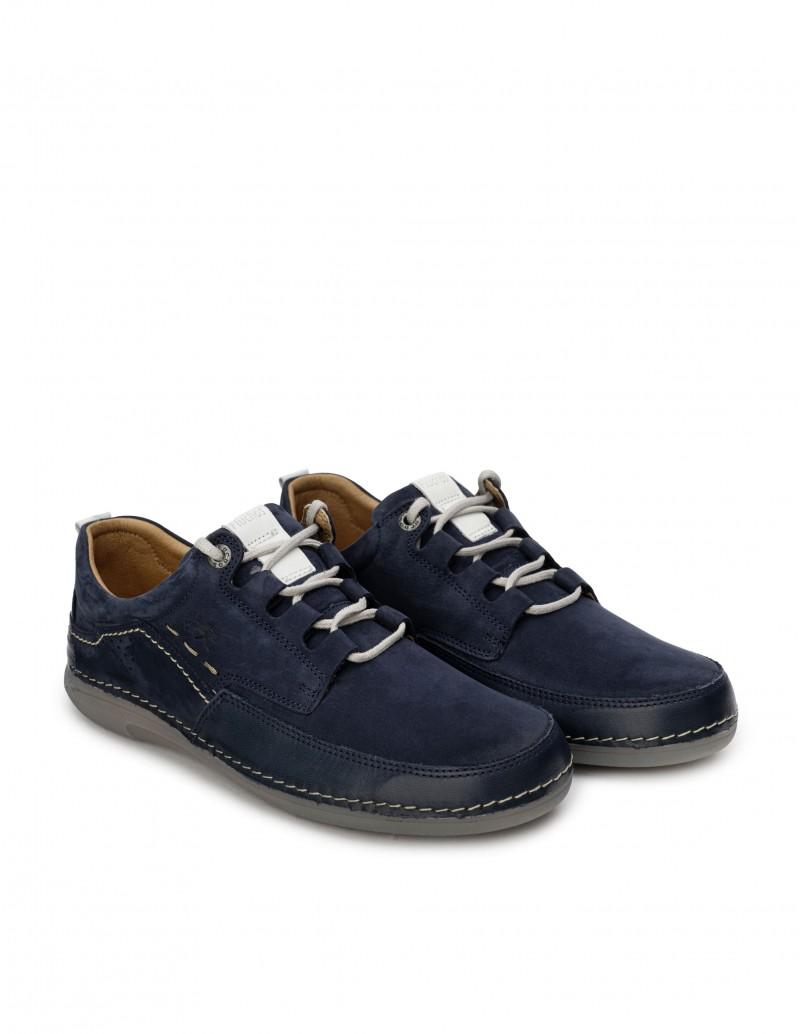 Zapatos Sport Cordones Azul Marino