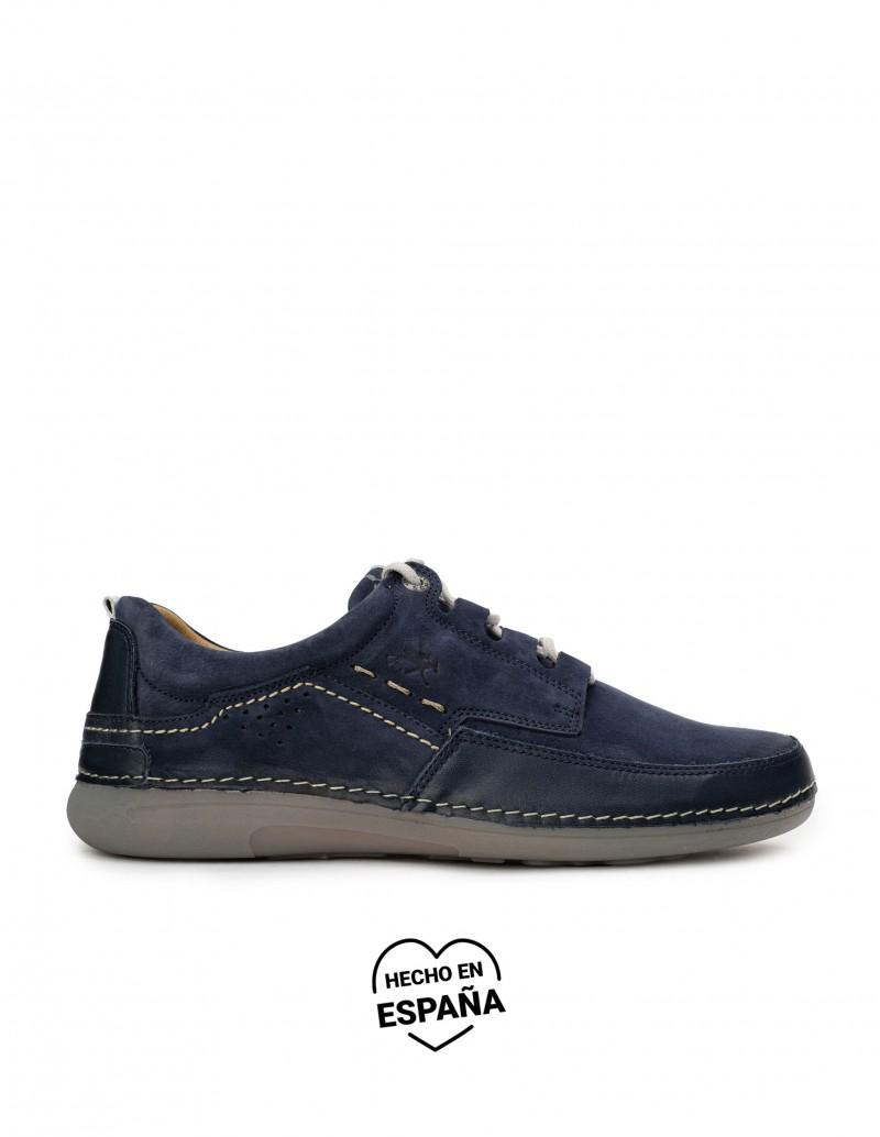 FLUCHOS Zapatos Sport Cordones Azul Marino