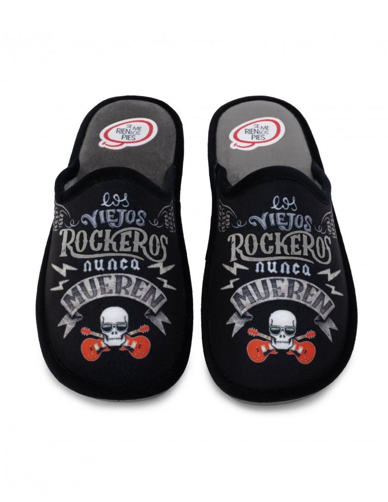 SE ME RÍEN LOS PIES Zapatillas Casa Rockeros