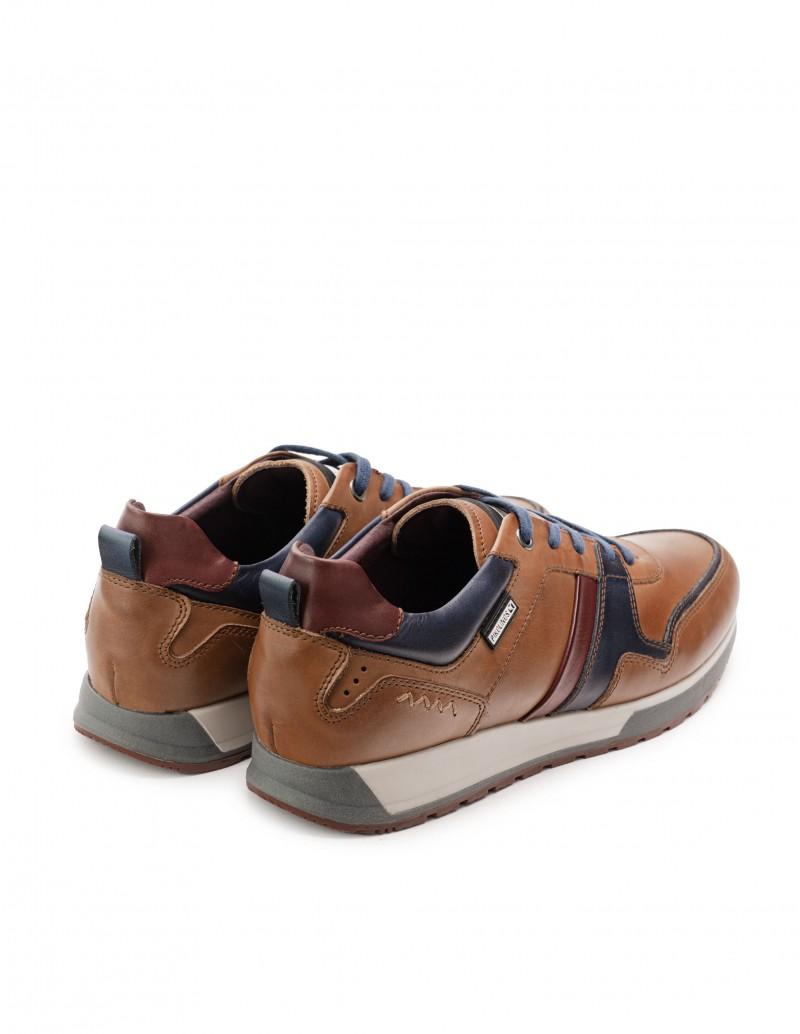 zapatos deportivos hombre marrones
