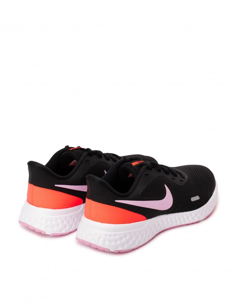 Zapatillas Nike Negras Revolution 5 Mujer