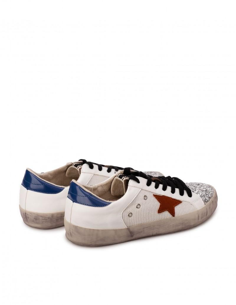 Zapatillas Estrella Mujer Blancas