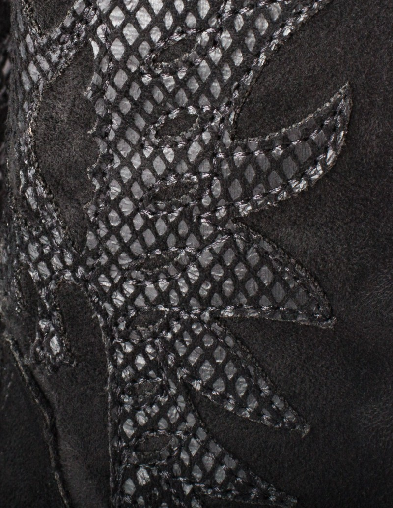 botas tejanas negras mujer