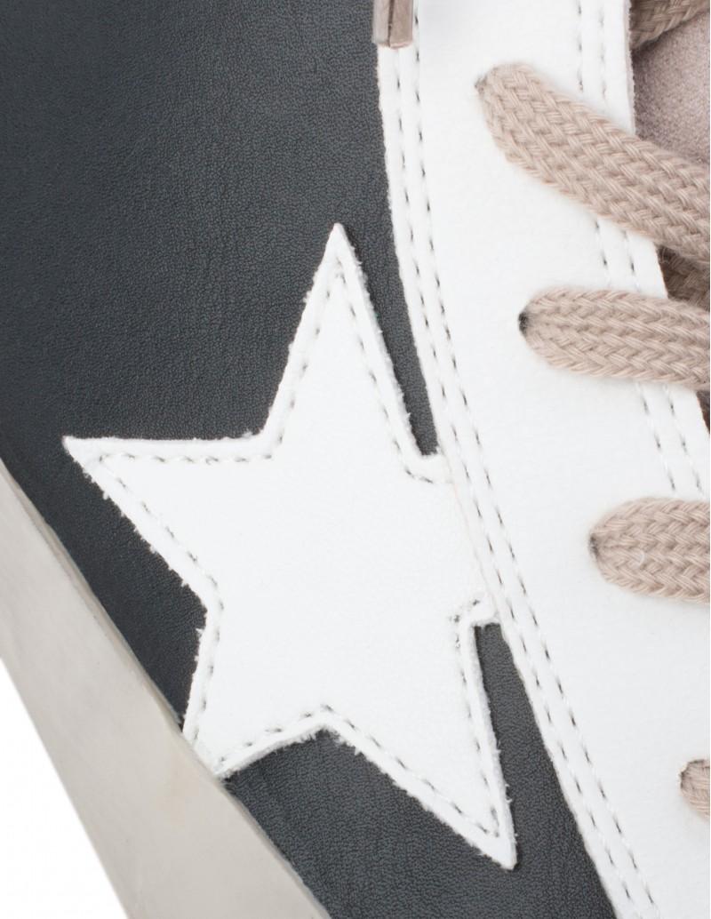 zapatillas negras estrella