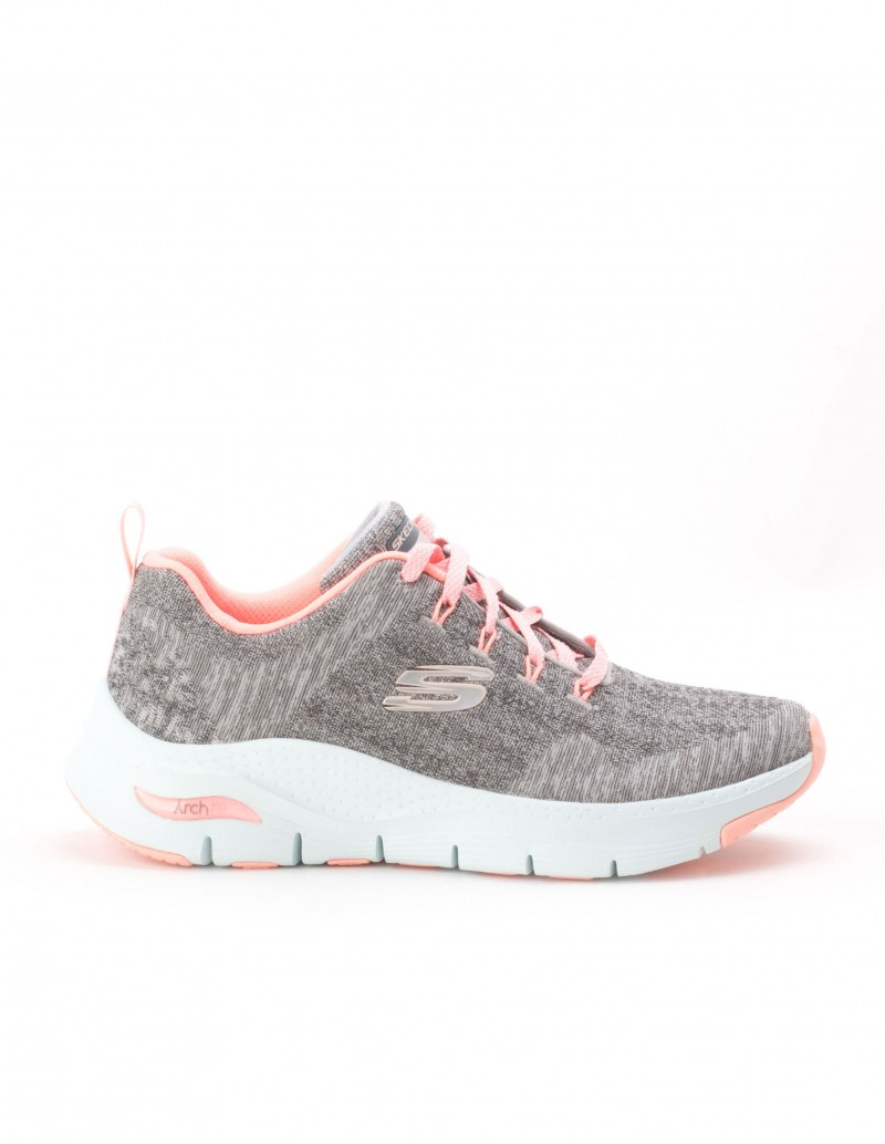 SKECHERS Arch Fit-Comfy Wave Grises