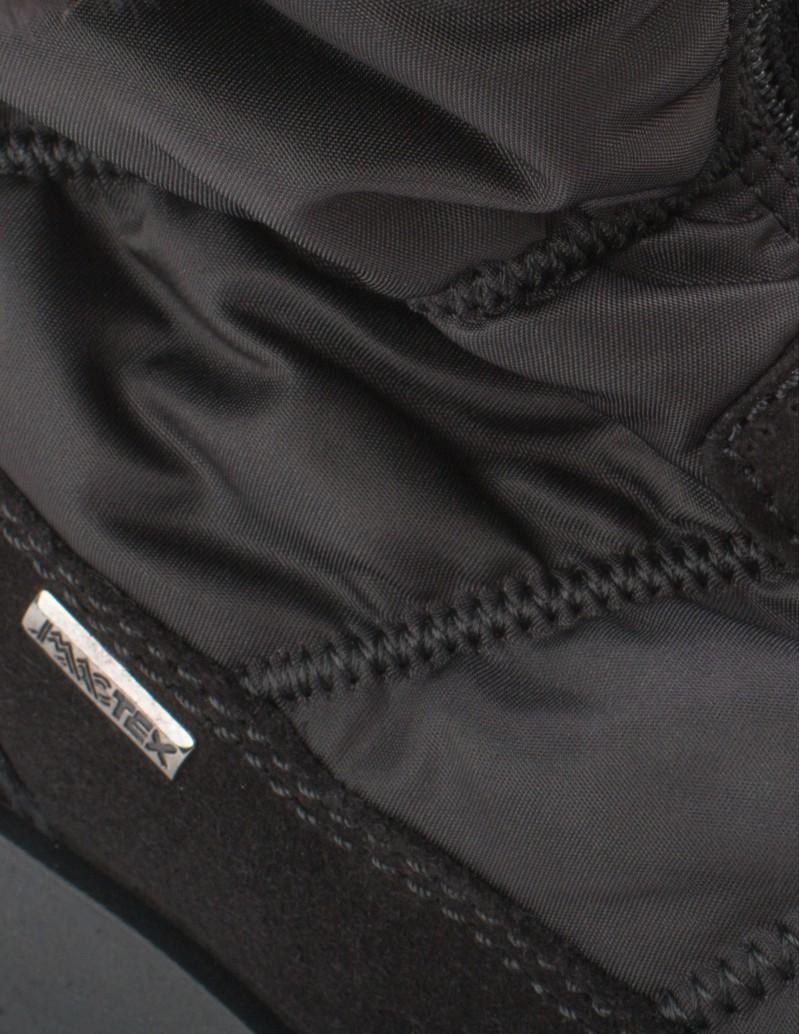 botas negras impermeables mujer