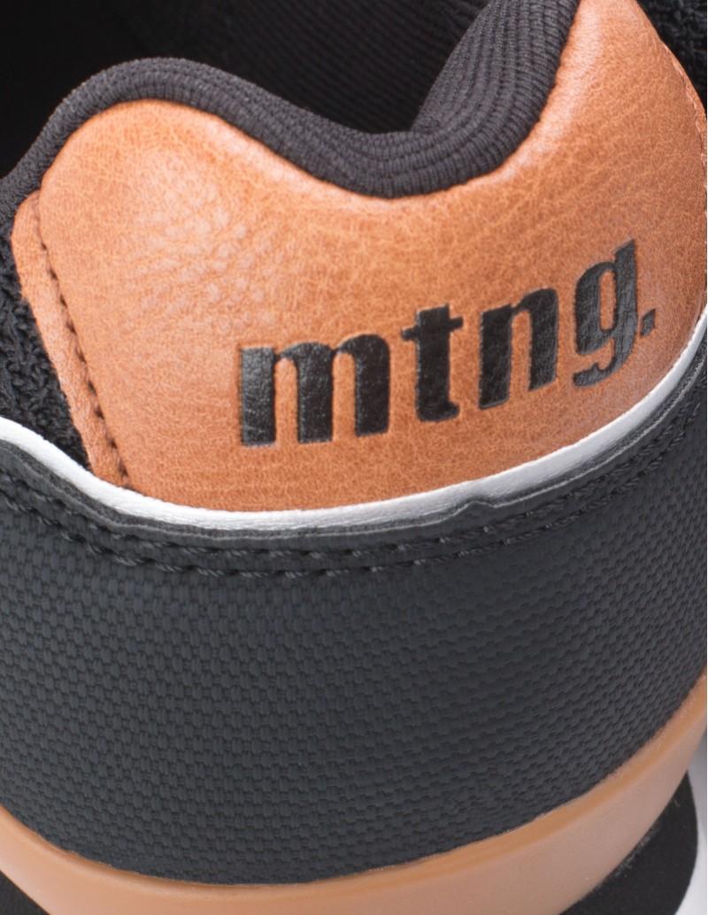zapatillas Mustang Hombre negras