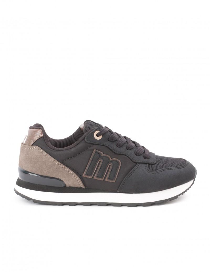 MUSTANG Sneakers Negras Detalles Topo