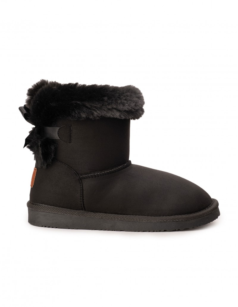 BREAK & WALK Botas Australianas Negras Lazo