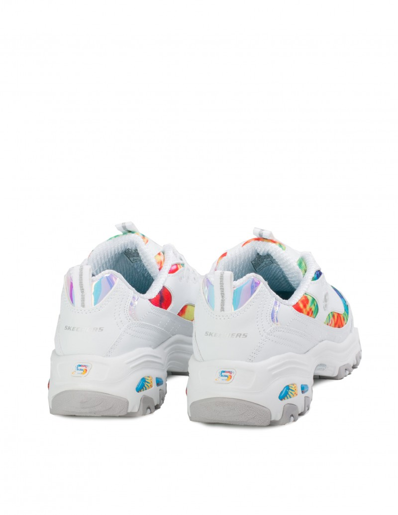 Zapatillas Skechers Blancas Plataforma