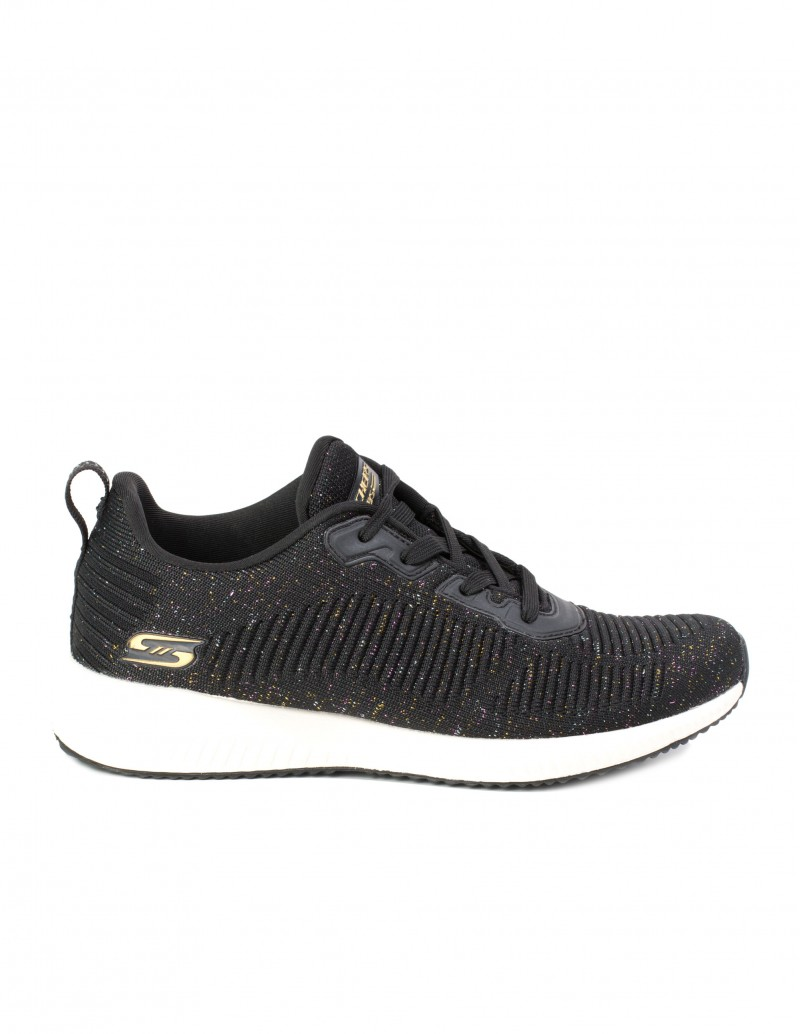 SKECHERS Bobs Sport Squad Total Glam Negras
