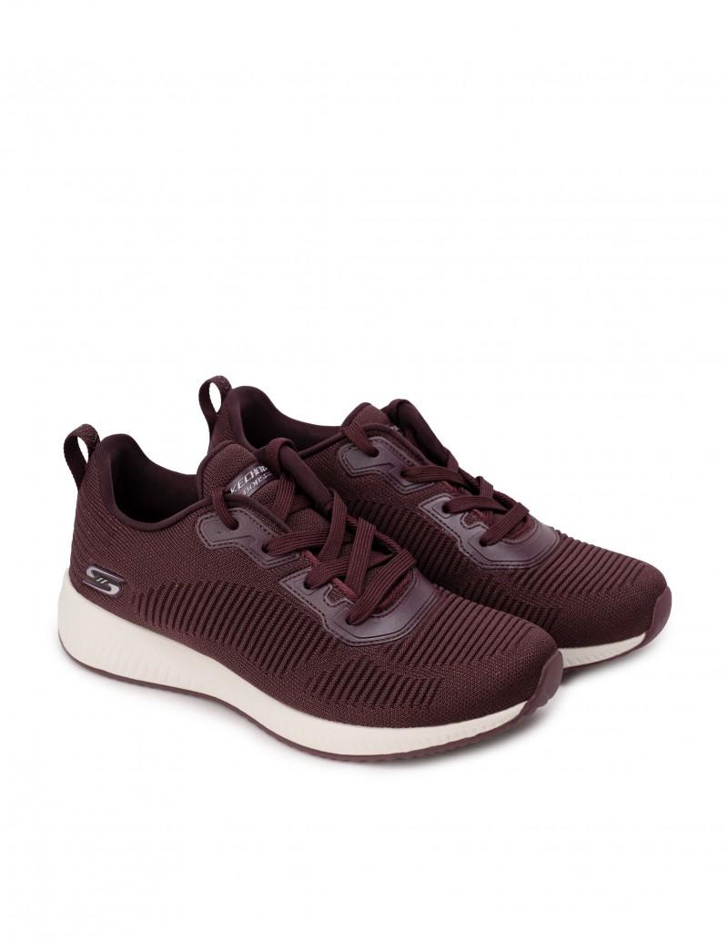 Zapatillas Skechers Mujer Burdeos
